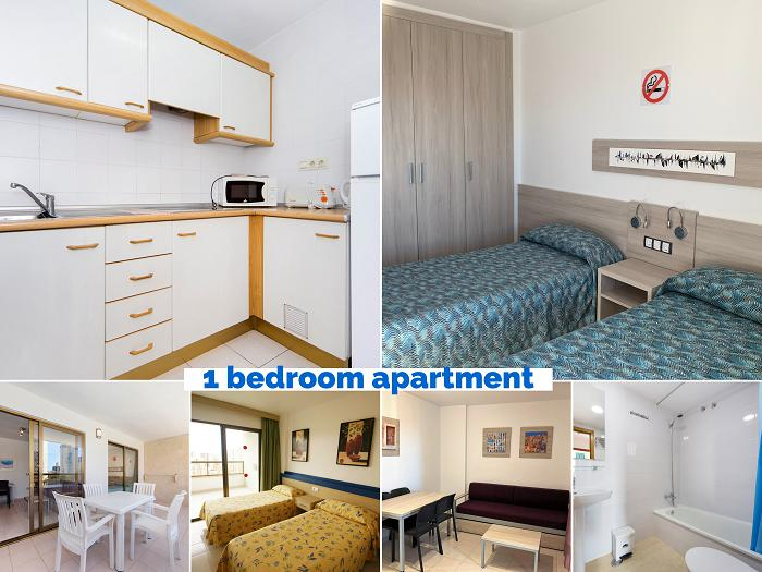 Apartment -                                       Benidorm -                                       1 bedrooms -                                       1-4 persons persons