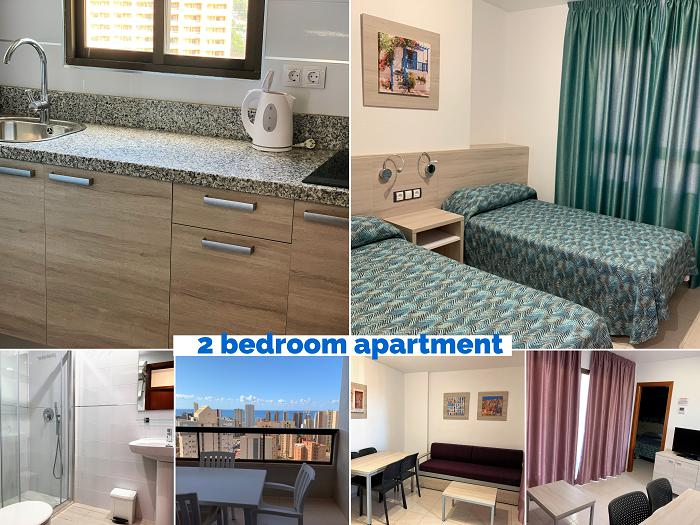 Apartment -                                       Benidorm -                                       2 bedrooms -                                       2-4 person persons