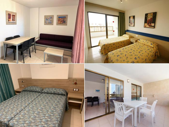 Apartment -                                       Benidorm -                                       1 bedrooms -                                       2 persons persons